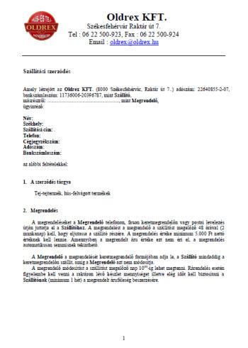 Mozaik: Opciós szerződés - gereingatlanok.hu